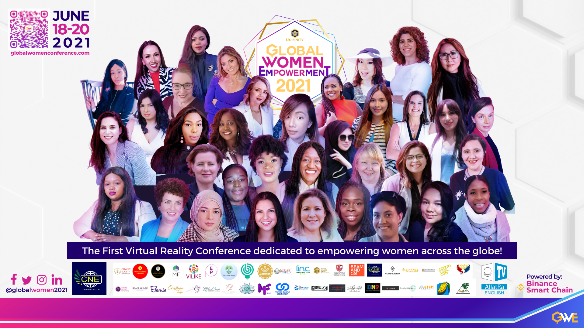 woman cryptocurrency blockchain